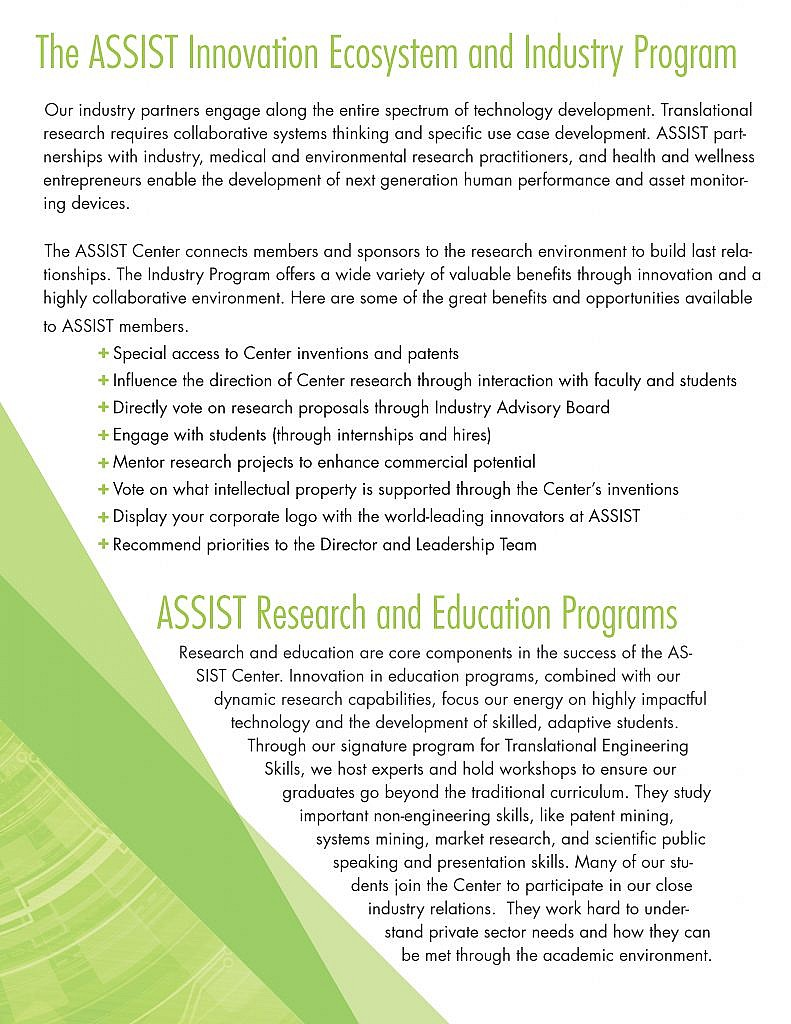 ASSIST Industry Program Guide 2016